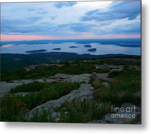 Sunrise Metal Print featuring the photograph Cadilac Sunrise by Christine Stack