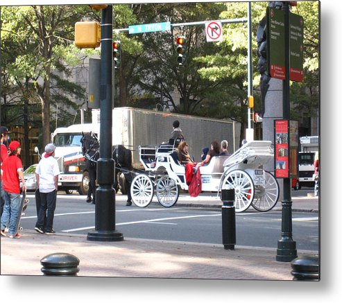 Charlotte Metal Print featuring the photograph Charlotte Nc - 12121 by DC Photographer