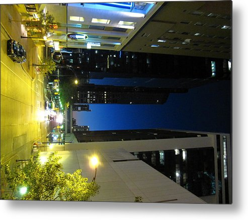 Charlotte Metal Print featuring the photograph Charlotte Nc - 12128 by DC Photographer