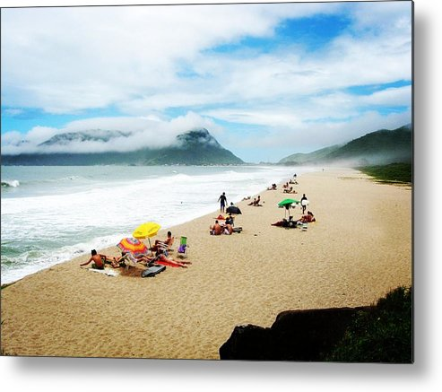 Floripa Metal Print featuring the photograph Cloud Bathing by Zinvolle Art