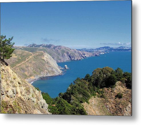 Coast Metal Print featuring the photograph Coastal Beauty by Jenny Hudson