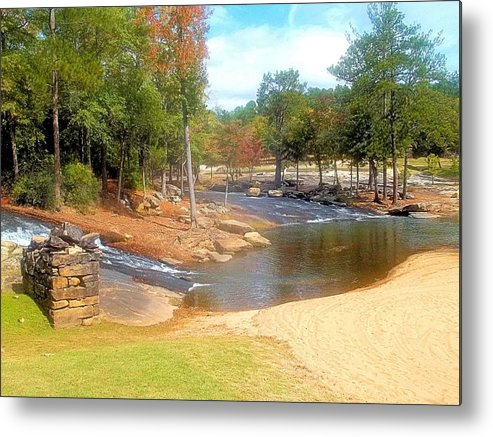 Cosley Mill Metal Print featuring the photograph Convergence And Confluence by James Potts