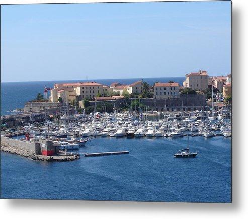Corsican Marina Metal Print featuring the photograph Corsican Marina by Martin Masterson