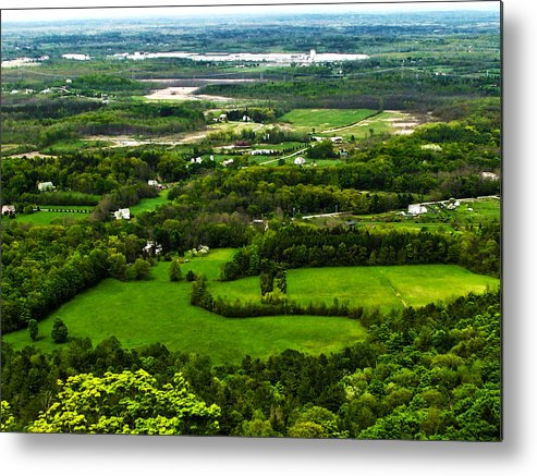 Scenery Metal Print featuring the photograph Down In The Valley by Joe Bledsoe