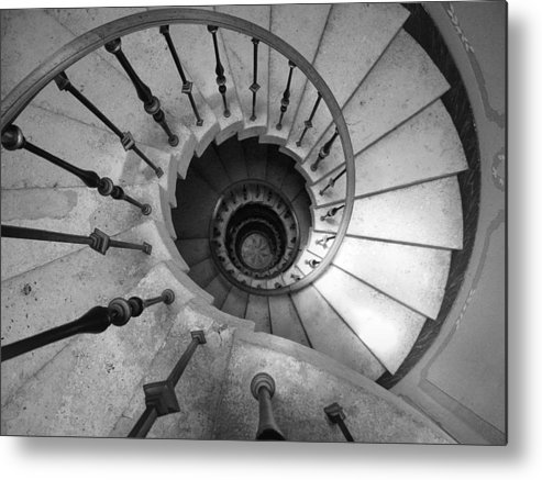 Photography Metal Print featuring the photograph Down-turn by H and L Nieborg