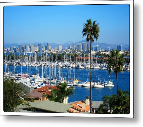 San Diego Bay Metal Print featuring the photograph Downtown San Diego by Phillip White