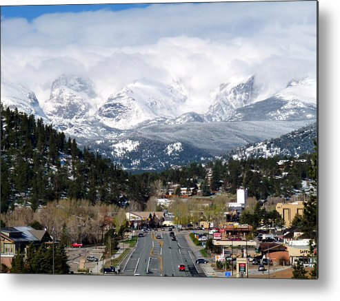 Tranquil Metal Print featuring the photograph Estes Park In The Spring by Tranquil Light Photography