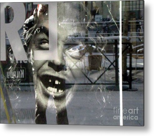 Imagination Metal Print featuring the mixed media Face My Friend by Yury Bashkin