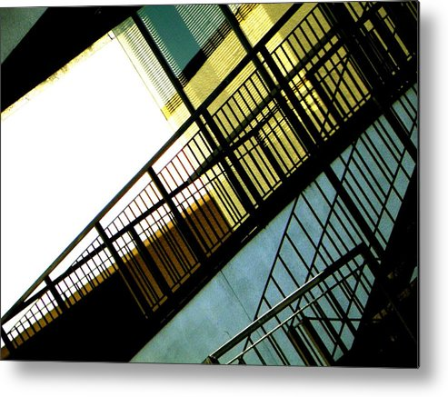 Abstract Metal Print featuring the photograph Formal Lines. by Clayton Odom