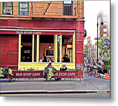 Art Metal Print featuring the photograph Friday Evening by Alla Albert