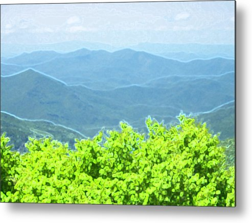 Metal Print featuring the photograph From Afar by Regina McLeroy