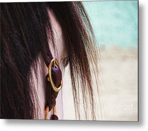 Horse Metal Print featuring the photograph From His View by Susan Jones