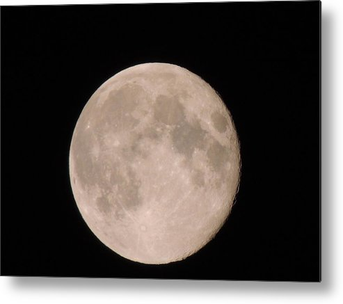Full Moon Metal Print featuring the photograph Full Moon by Anastasia Konn