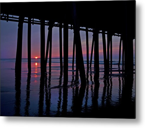 Old Metal Print featuring the photograph Good Morning Old Orchard Silhouette  by Betsy Knapp