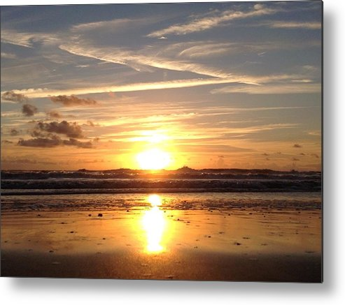 Sunrise Metal Print featuring the photograph Healing Angel by LeeAnn Kendall