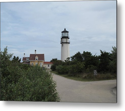 Lighthouse Metal Print featuring the photograph Highland Light Aka Cape Cod Light by Barbara McDevitt