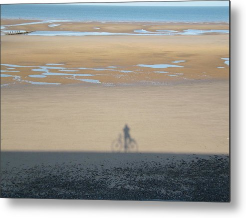 Photograph Metal Print featuring the photograph Just A Shadow Of Myself by Errol Jameson
