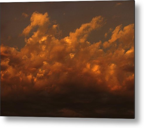 Clouds Metal Print featuring the photograph Kayleigh by Chris Dunn