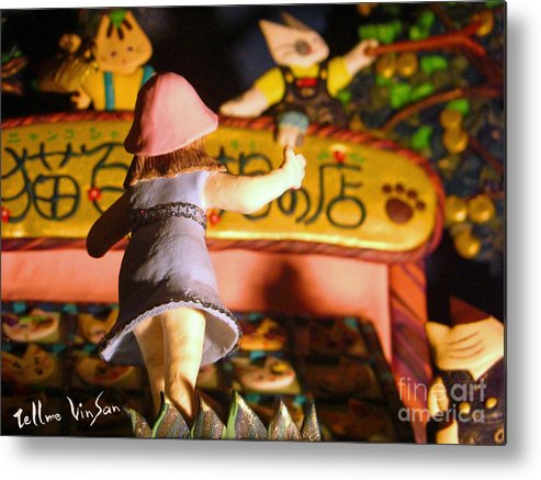 Historical Metal Print featuring the painting Light Museum Book 2 by Terumi Wago