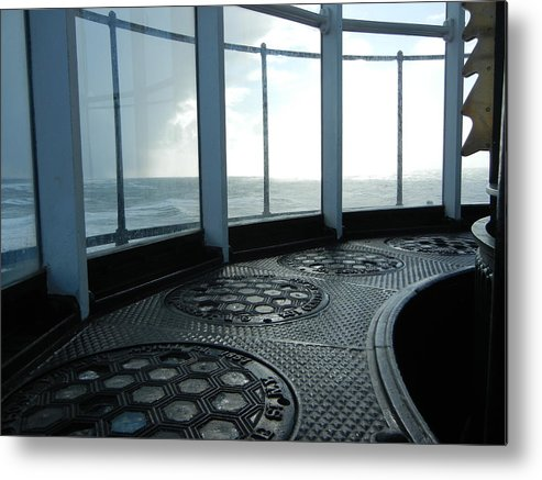 Landscape Metal Print featuring the photograph Lighthouse by Tess Cummings