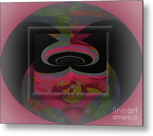 Lily Metal Print featuring the photograph Lily Abstract by Gena Weiser