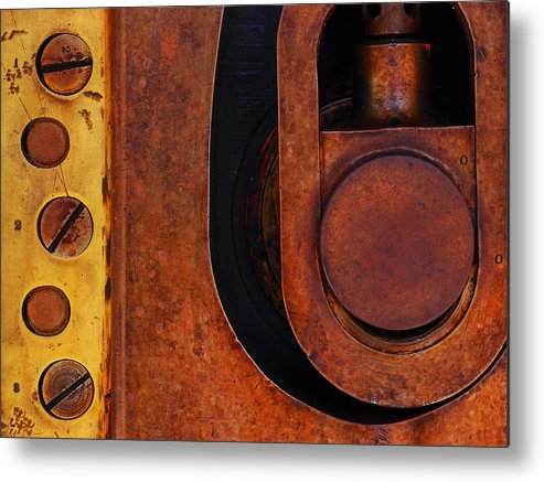 Lock Down Metal Print featuring the photograph Lock Down by Skip Hunt