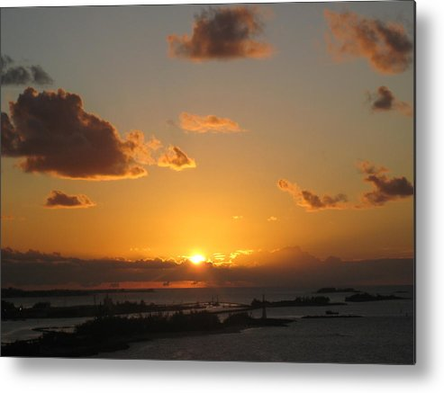 Sunset Metal Print featuring the photograph Michael's Sunset by Pam Festa