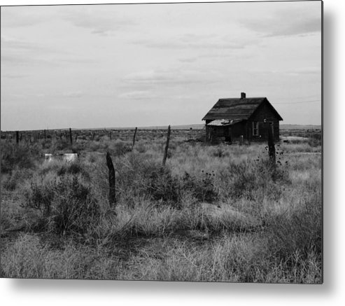 Model Colorado Metal Print featuring the photograph Model Home by Anna Villarreal Garbis