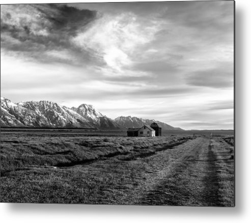 Mormon Row Metal Print featuring the photograph Mormon Row by Kevin Reilly