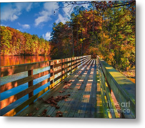 Early Metal Print featuring the photograph Morning Inspiration by Scott Hervieux