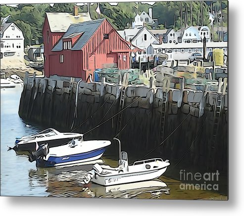 Motif #1 Metal Print featuring the photograph Motif 1 by Phil Campanella