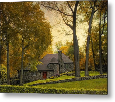 Architecture Metal Print featuring the photograph Nestled by Jessica Jenney