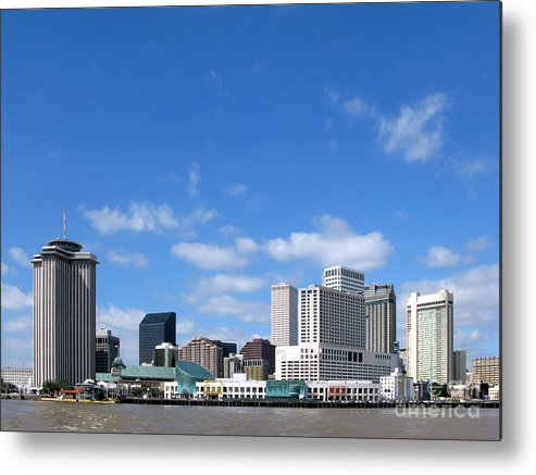 New Metal Print featuring the photograph New Orleans Louisiana by Olivier Le Queinec