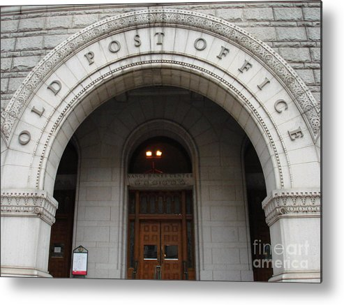 Landscape Metal Print featuring the photograph Old Post Office In D.c. by Aimee Vance