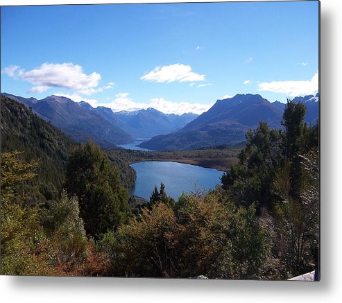 Andes Metal Print featuring the photograph Patagonia by Gonzalo Martinez