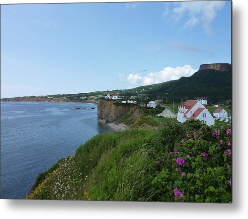 Perce Metal Print featuring the photograph Perce Quebec by Diane Palmer