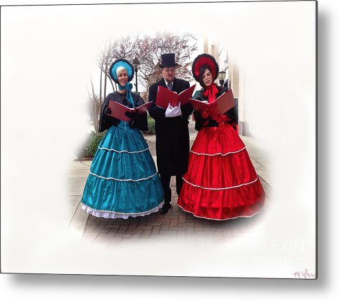 Singers Metal Print featuring the photograph Sing Sing Sing by Saundra Myles
