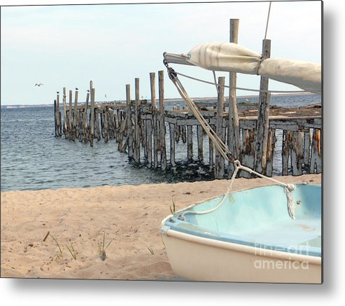 Provincetown Metal Print featuring the photograph Provincetown by Jack Gannon
