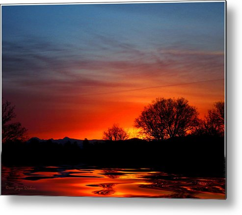 Dawn Metal Print featuring the photograph Red Dawn by Joyce Dickens
