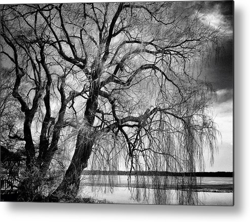 Landscape Metal Print featuring the photograph Remains Of Winter by Dave Hall