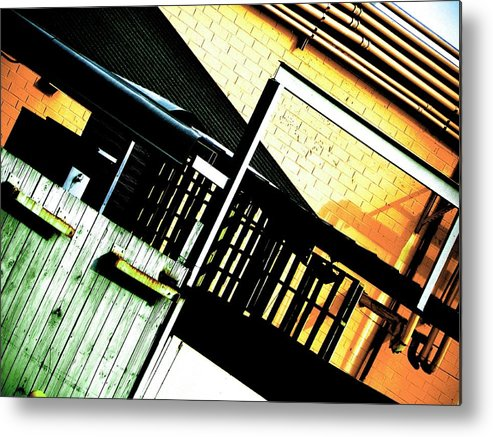 Abstract Metal Print featuring the photograph Reversal Of Plain. by Clayton Odom