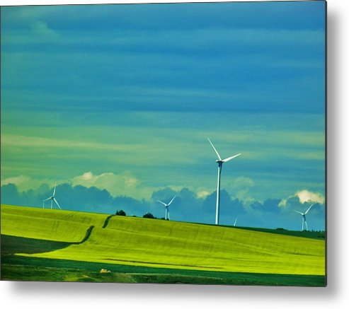 Beautiful Landscape Metal Print featuring the photograph Rippled by Sharleen Adam