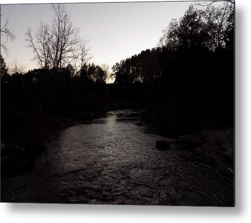 Water Metal Print featuring the photograph River Stream by Joyce Boley
