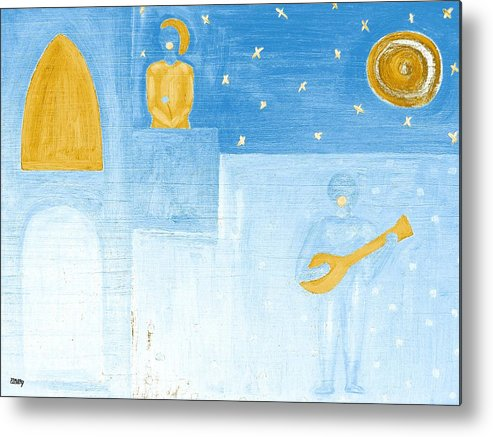 Singing Metal Print featuring the painting Romeo And Juliet 5 by Patrick J Murphy
