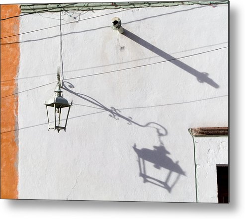 Shadow Metal Print featuring the photograph San Miguel Shadows 1 by Dusty Demerson