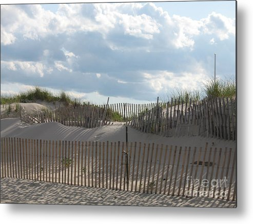Sand Metal Print featuring the photograph Sand Dune by Christiane Schulze Art And Photography