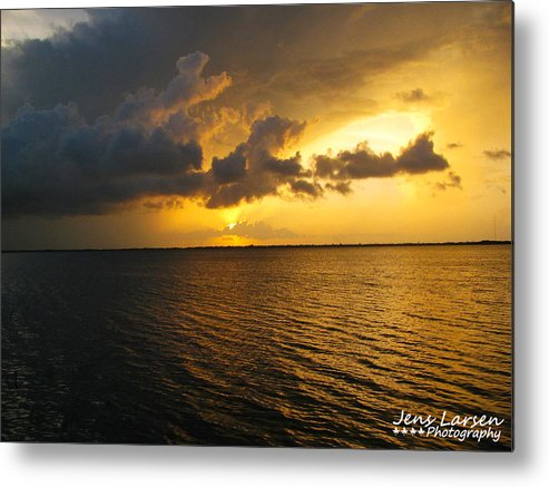 Clouds Metal Print featuring the photograph Ship Figurehead Cloud by Jens Larsen