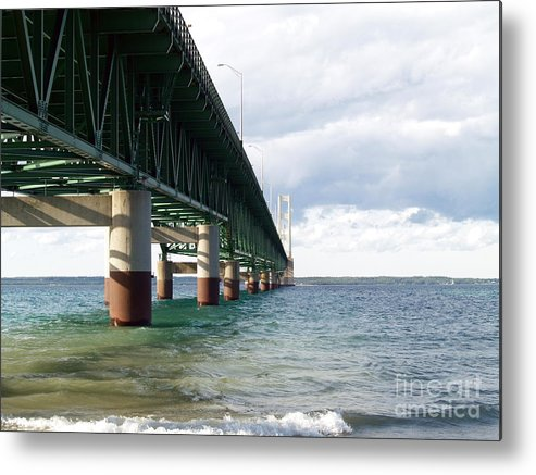 Water Metal Print featuring the photograph Side -tracked by Melissa McDole
