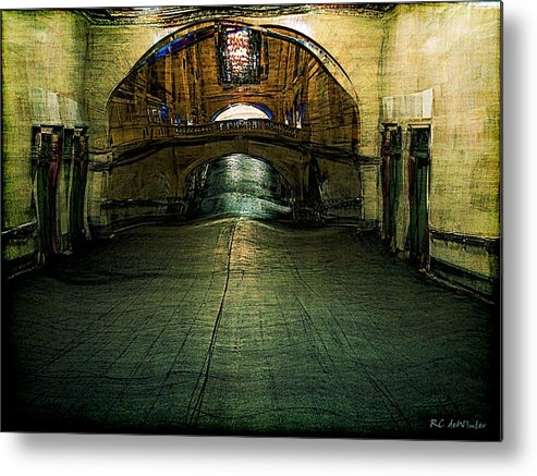 Archway Metal Print featuring the painting Slouching Towards Bethlehem by RC DeWinter