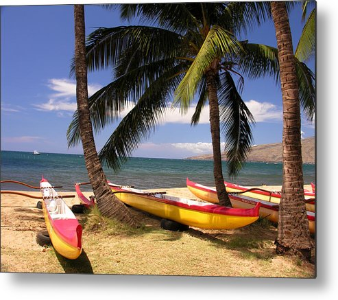 Maui Metal Print featuring the photograph Southside Of Maui by Robert Lozen